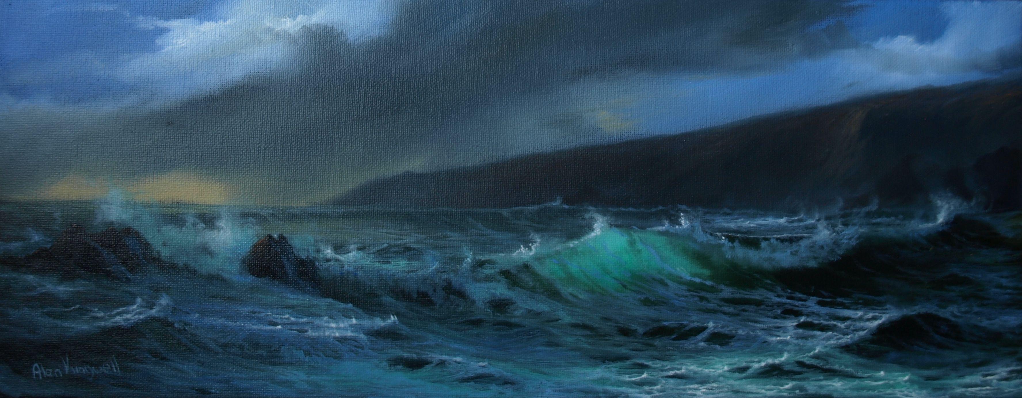 Alan King Oil Paintings Value